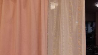 お天気が持ちそうだったのでカーテンを洗った!