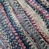編み始めている、自分の帽子